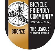 Bronze-level Bicycle Friendly Community image