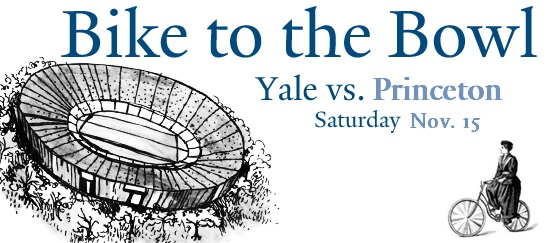 Bike to the Yale Bowl this Saturday, November 15